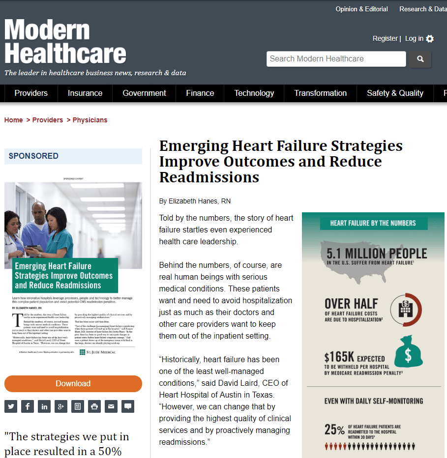 emerging heart failure strategies