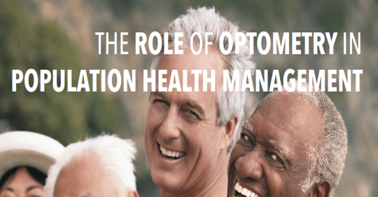The Role of Optometry in population health management